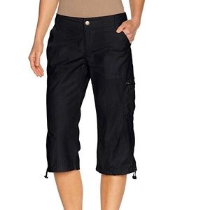 NWT Columbia Black Capri pants